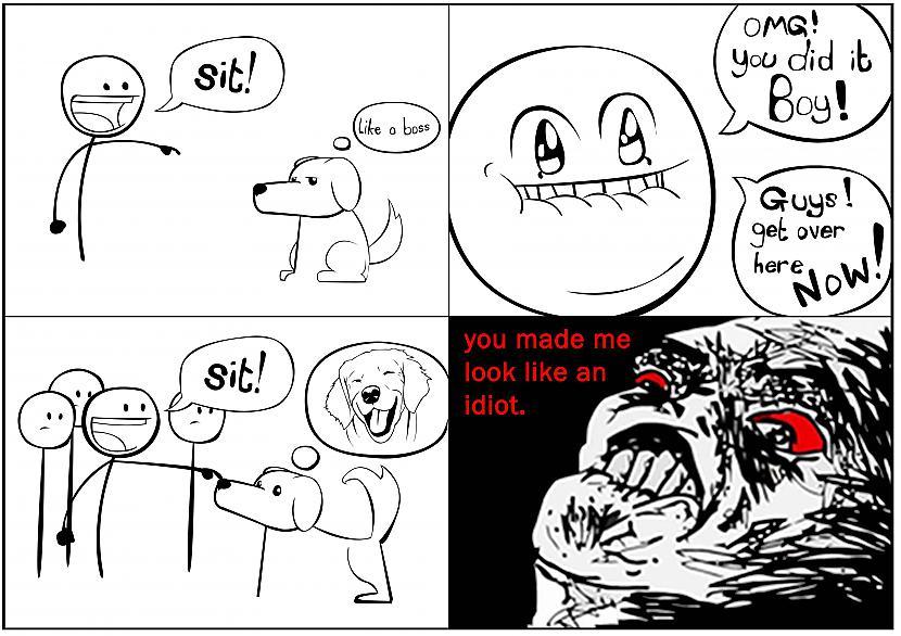 Autors:  BlazingDuck Uzmanies! karsti komiksi!