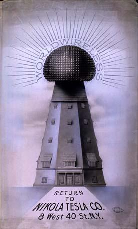 nbsp1900 gadā kāds plascaroni... Autors: Gugols Nikola Teslas tornis – Bezvadu elektrība