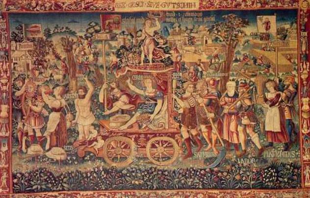 Gobelēns kas pazīstams ar... Autors: Karalis Jānis Mistiski citplanētiešu artefakti.