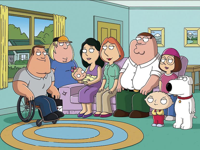 Family Guy Pīters Griffins... Autors: zirnekļcūks Interesanti fakti par seriāliem