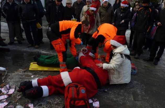 24 decembrī Polijas pilsētā... Autors: Karalis Jānis Ziemassvētku vecīša nelāgā diena.