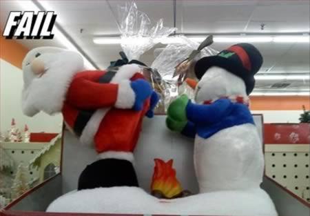 Salavecis un sniegavīrs... Autors: AldisTheGreat 12 Ziemīšu feili.