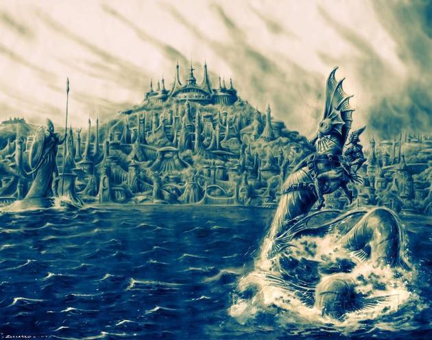 Mūsdienās ir vairākas vietas... Autors: Fosilija Pazudusī pilsēta