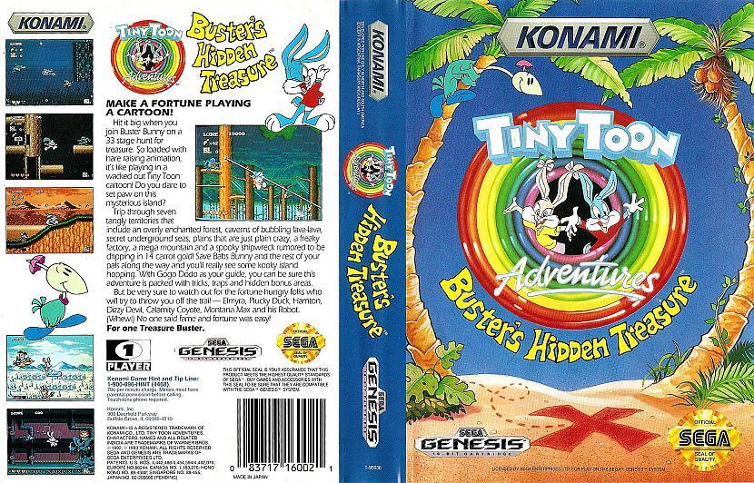 Tiny Toon Buster s Hidden... Autors: Werkis2 Manas bērnības Sega Mega Drive 2 spēlītes un interesantas atmiņas.
