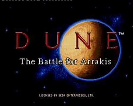DUNEScaronīs spēles... Autors: Werkis2 Manas bērnības Sega Mega Drive 2 spēlītes un interesantas atmiņas.