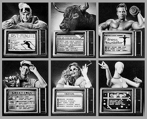 Muļķīgā Knight Ridder... Autors: Werkis2 Viewtron 1983 - Internets  pirms Interneta.