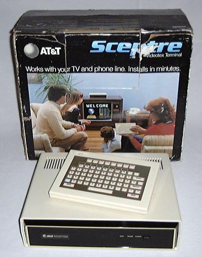 Lai varētu lietot Viewtron... Autors: Werkis2 Viewtron 1983 - Internets  pirms Interneta.