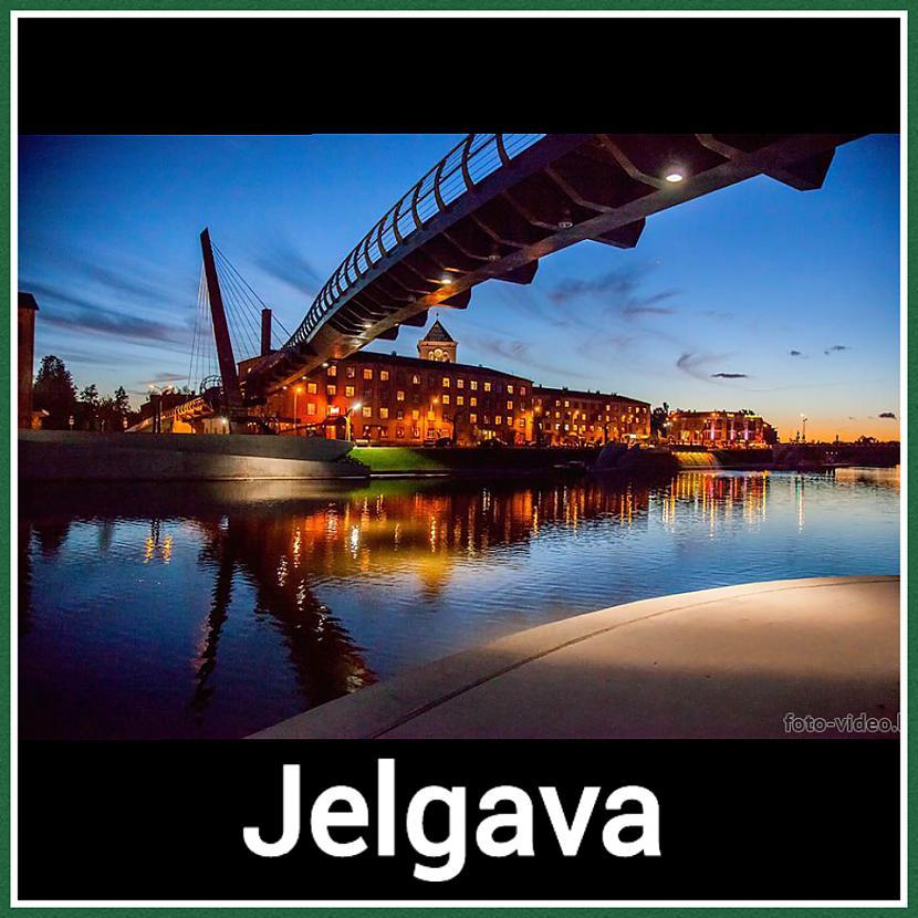 Jelgava  Iedzīvotāju skaits 62... Autors: ghost07 8 Skaistāko Latvijas pilsētu panorāmas