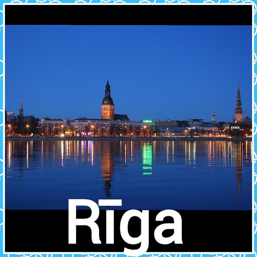Rīga  Iedzīvotāju skaits 700... Autors: ghost07 8 Skaistāko Latvijas pilsētu panorāmas