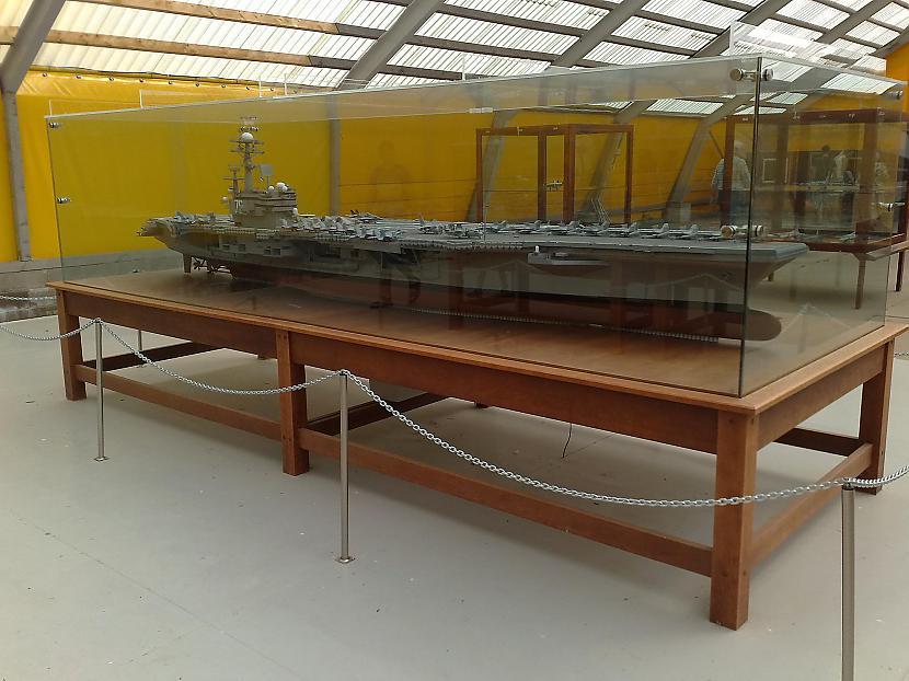 nopietna izmēra kuģa modelis Autors: Odium Eesti Lennundusmusseum