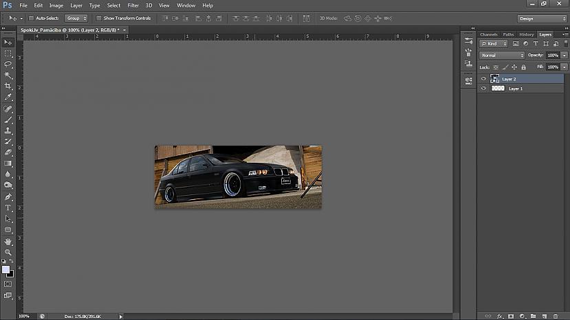Attēls ievilks bet ir pa... Autors: UsernameTaked Photoshop pamācība: Viegla signature no HD kvalitātes wallpaper'a