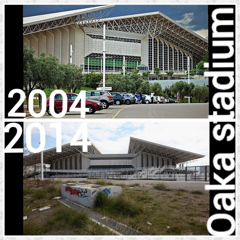 Oakas stadiona apkarte ir... Autors: ghost07 Kā izskatās Atēnu olimpiskie objekti pēc 10 gadiem?