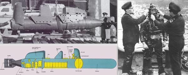 Chariot 1941gada septembrī... Autors: GargantijA Kamikadzes zem ūdens.