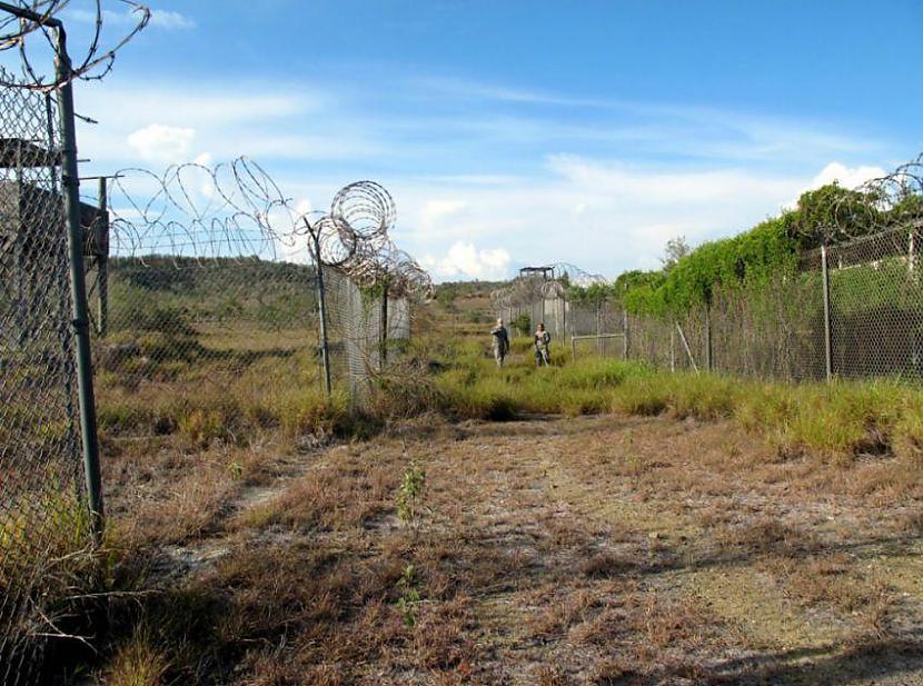 Lūk tā tie... Autors: msi11 Gvantanamo teroristu cietums