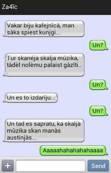 Autors: Diamont Smiekligas SMS, un TEXTI. 2