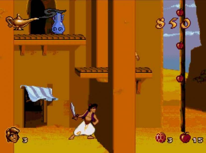 Aladins Nu vakar bija tāds... Autors: The Diāna Atceries? Tavas bērnības spēles.