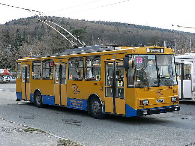 UZLABOJUMIKapitālā remonta... Autors: Fosilija Trolejbuss Škoda 14Tr