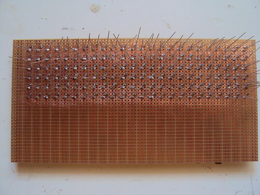 No sākuma vienkārscaroni... Autors: BL3NDeris DIY LED matrix