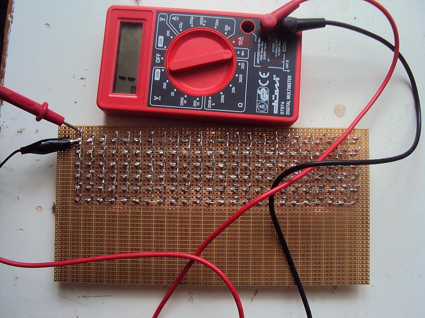 Tomēr neaizmirstam pārbaudīt... Autors: BL3NDeris DIY LED matrix
