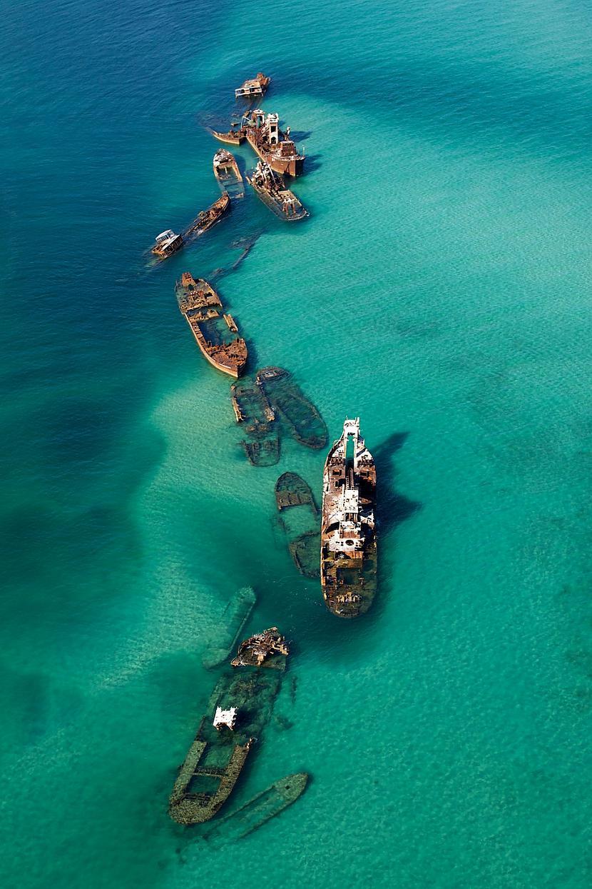 Kuģu vraki Bermuda trijstūrī Autors: SinagogenBombardiren Pasaules interesantākās pamestās vietas