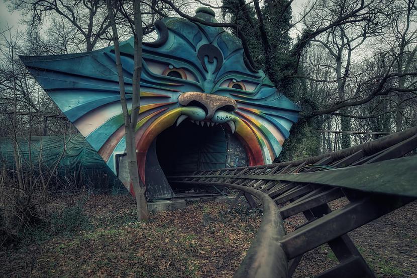Spreepark Berlīne Vācija Autors: SinagogenBombardiren Pasaules interesantākās pamestās vietas