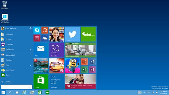 Autors: Fosilija Microsoft pārsteidz ar Windows 10