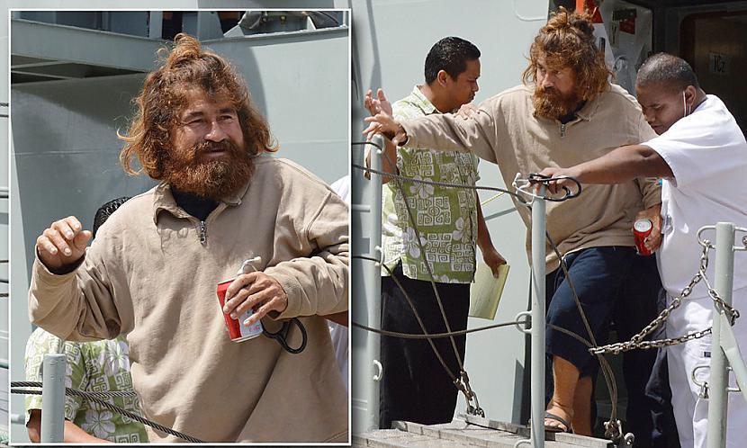 Pēc zvejnieka atrascaronanas... Autors: pofig Zvejnieks, kurš pazuda jūrā 13 mēnešus