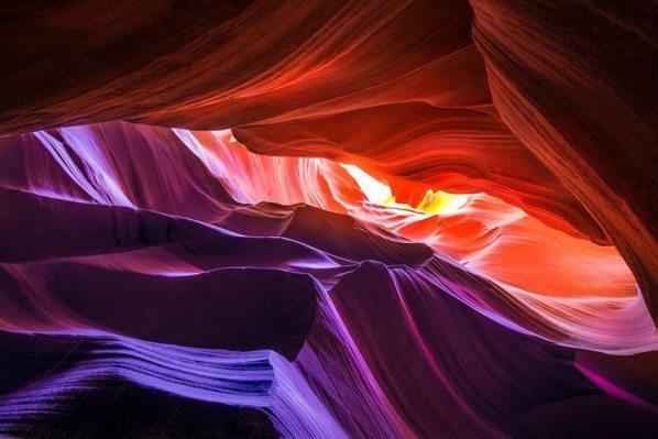 Antelopes kanjons Arizona ASV Autors: Mārtiņš2 Vietas kuras jāredz pirms nāves