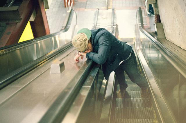 Uz eskalatora Autors: im mad cuz u bad Kur vislabāk aizmigt?