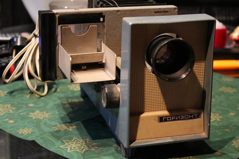 Gorizont 1972 Diaprojektors Autors: chechens5 Mana projektoru kolekcija