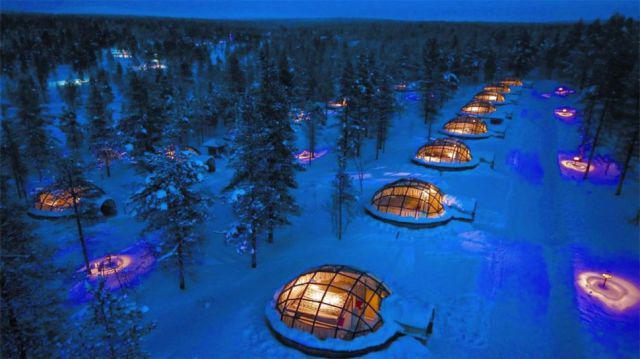 Hotel Kakslauttanen Finland Autors: im mad cuz u bad Kur vislabāk pavadīt Valentīndienu?