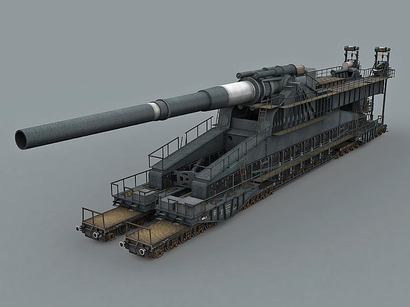 Maksimālais sprāgstoscarona... Autors: LatvianGames Schwerer Gustav  - lielākais un nepraktiskākais lielgabals