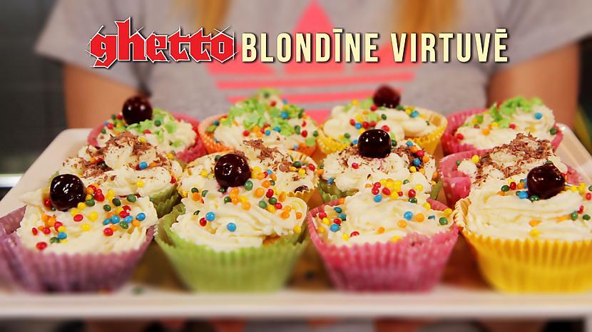 Ghetto Blondīne Virtuvē... Autors: Fosilija Ghetto Blondīne Virtuvē. Kapkeiki #2