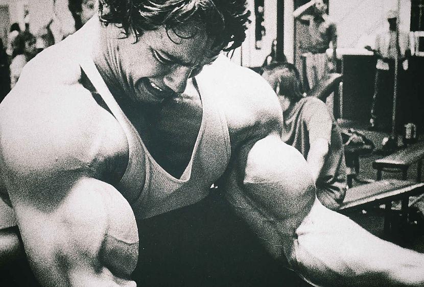 119 kg viņa ķermenis var pacet... Autors: Ryzzuo cik patiesībā bija spēcīgs Arnolds