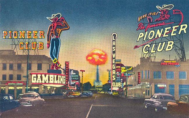 Atombumbu izmēģināscaronanas... Autors: Prāta Darbnīca Ballītes, kas notika uz atombumbu sprādziena fona