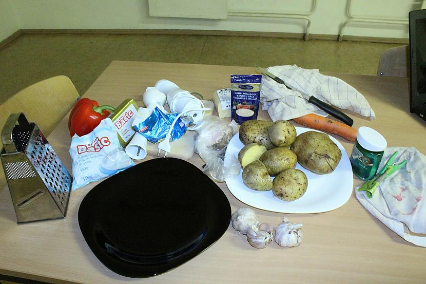 Sastāvdaļas Autors: Sforca Debešķīgais kartupeļu biezenis