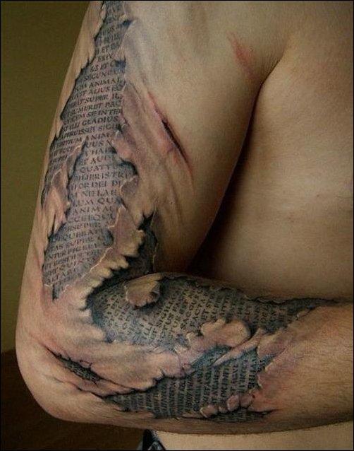 Autors: DeathIsComing Interesanti 3D tetovējumi