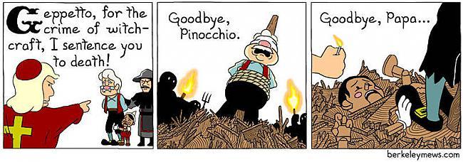 Mazliet savādākas Pinokio... Autors: kaķūns Nevainīgie komiksi