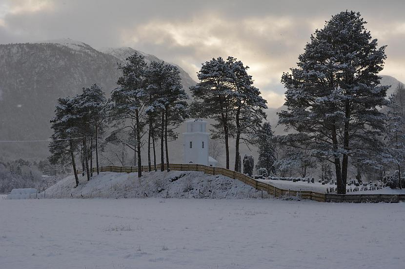 Norvēģija Autors: Fosilija Vai nu šādu ziemu, vai nekādu