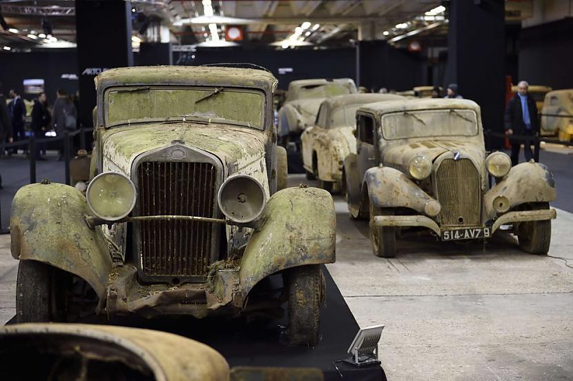 Delage D8  15 S coach... Autors: the english Par miljoniem tiks izsolīti pamestā Francijas šķūnī atrastie retro auto.