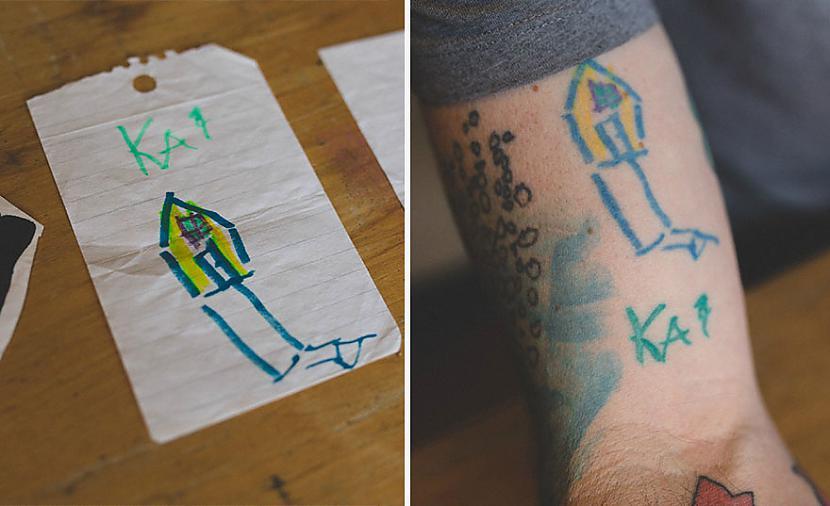 Autors: Lords Lanselots Tēvs lepojas ar sava dēla zīmējumiem!
