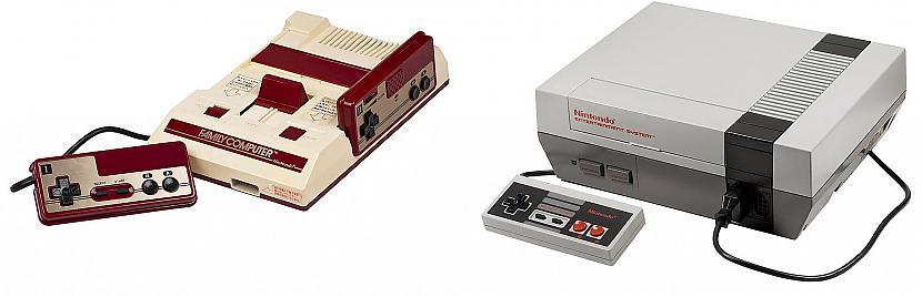 Famicom ir vecākais brālis... Autors: Kaskijs Spēļu konsole famicom