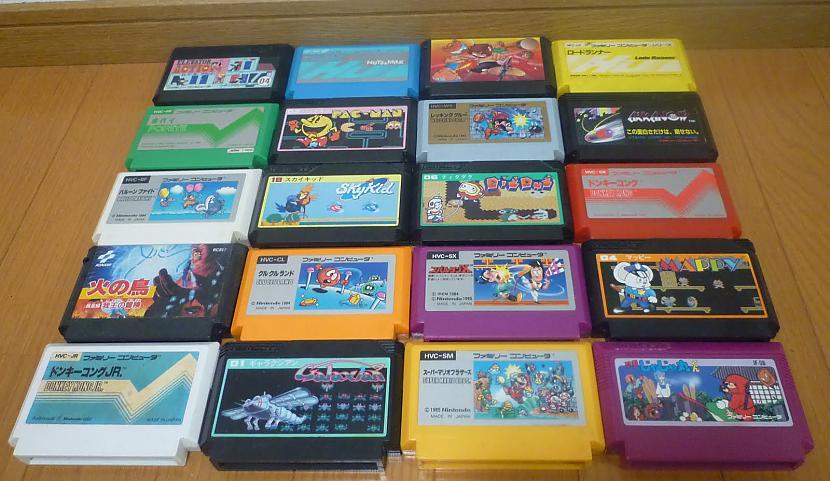 Famicom spēles tika rakstītas... Autors: Kaskijs Spēļu konsole famicom