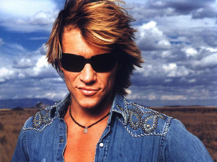 Jon Bon Jovi varētu likties ka... Autors: Zutēns KO viņi darīja, PIRMS kļuva slaveni?