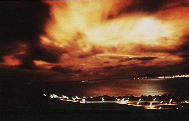 Raķete tika palaista un skats... Autors: Prāta Darbnīca Reiz amerikāņi kosmosā uzspridzināja atombumbu