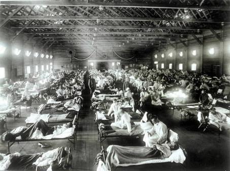 1 Spāņu gripa bija... Autors: WhatDoesTheFoxSay 10 notikumi, kuri gandrīz iznīcināja pasauli