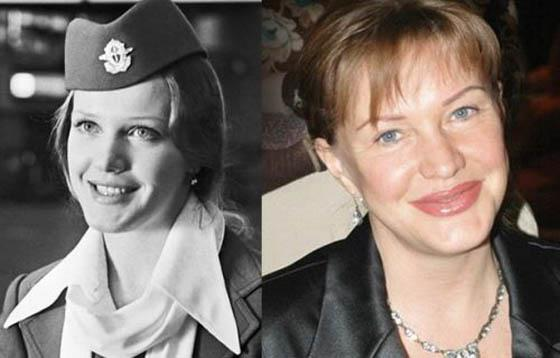 Jeļena ProklovaSlavena veco... Autors: Lords Lanselots Slavenību plastiskās operācijas - pirms un pēc!