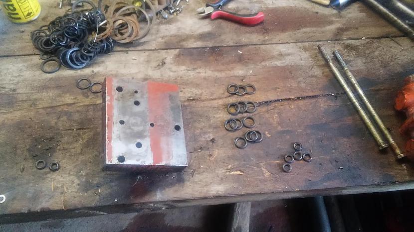 Tad nu salasam gredzenus kādi... Autors: Zigmars R Pabeidzām gatavošanos kulšanai.
