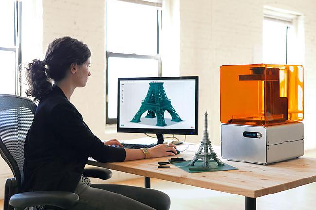 Vārdi bdquo3D printerisrdquo... Autors: misawesome Iepazīsties - 3D printeris.