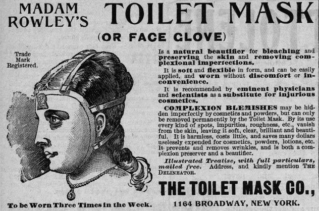 Roulijas skaistuma maskanbspJa... Autors: sancisj Creepy maskas no pagātnes